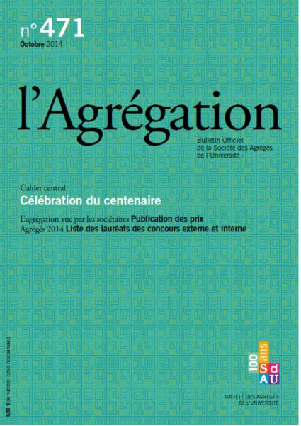 N°471 – Célébration du centenaire