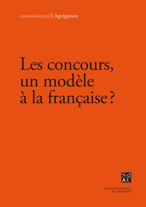 Le concours, un modèle à la française ?