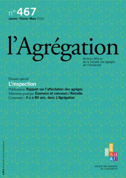 N°467 – L'Inspection