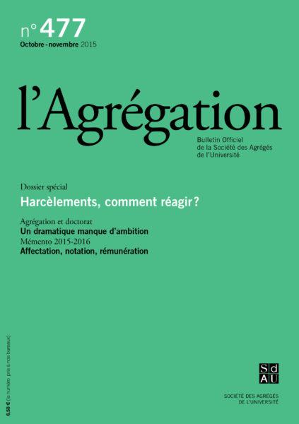 N°477 – Harcèlements, comment réagir ?