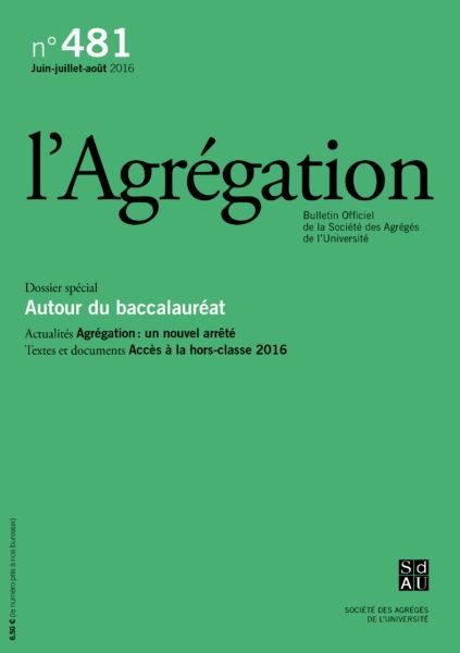 N°481 – Autour du baccaulauréat
