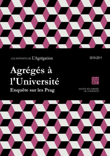 Rapport – Les agrégés à l'Université : condition des Prag