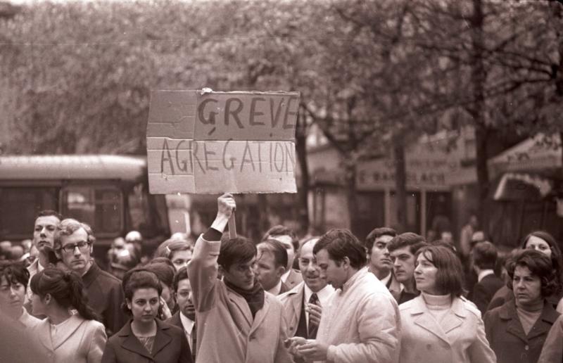 L'agrégation en mai 1968